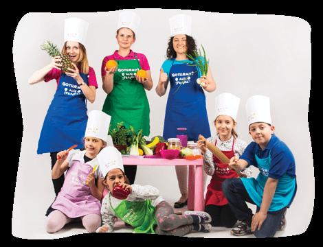 Warsztaty kulinarne dla dzieci - aleefrajda.pl